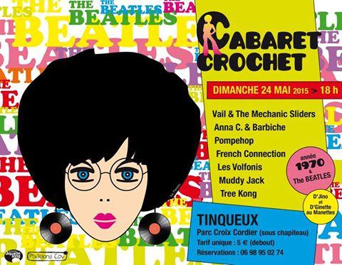 Pompéhop en concert à Tinqueux (51) pour le Cabaret crochet !