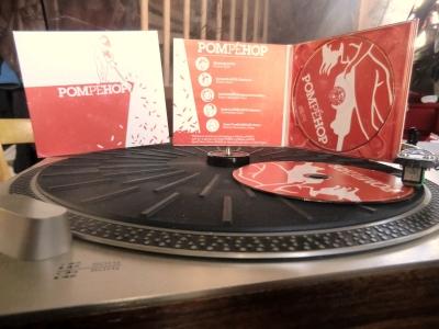 Les Albums de Pompéhop sont arrivés !