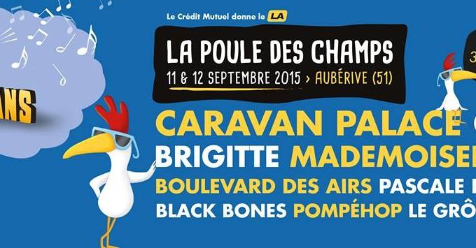 Pompéhop en concert au Festival de la Poule Des Champs à Aubérive (51) !