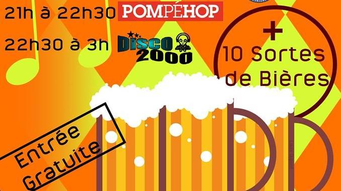 Pompéhop en concert à Le Chesne (08) pour la Fête de la bière !
