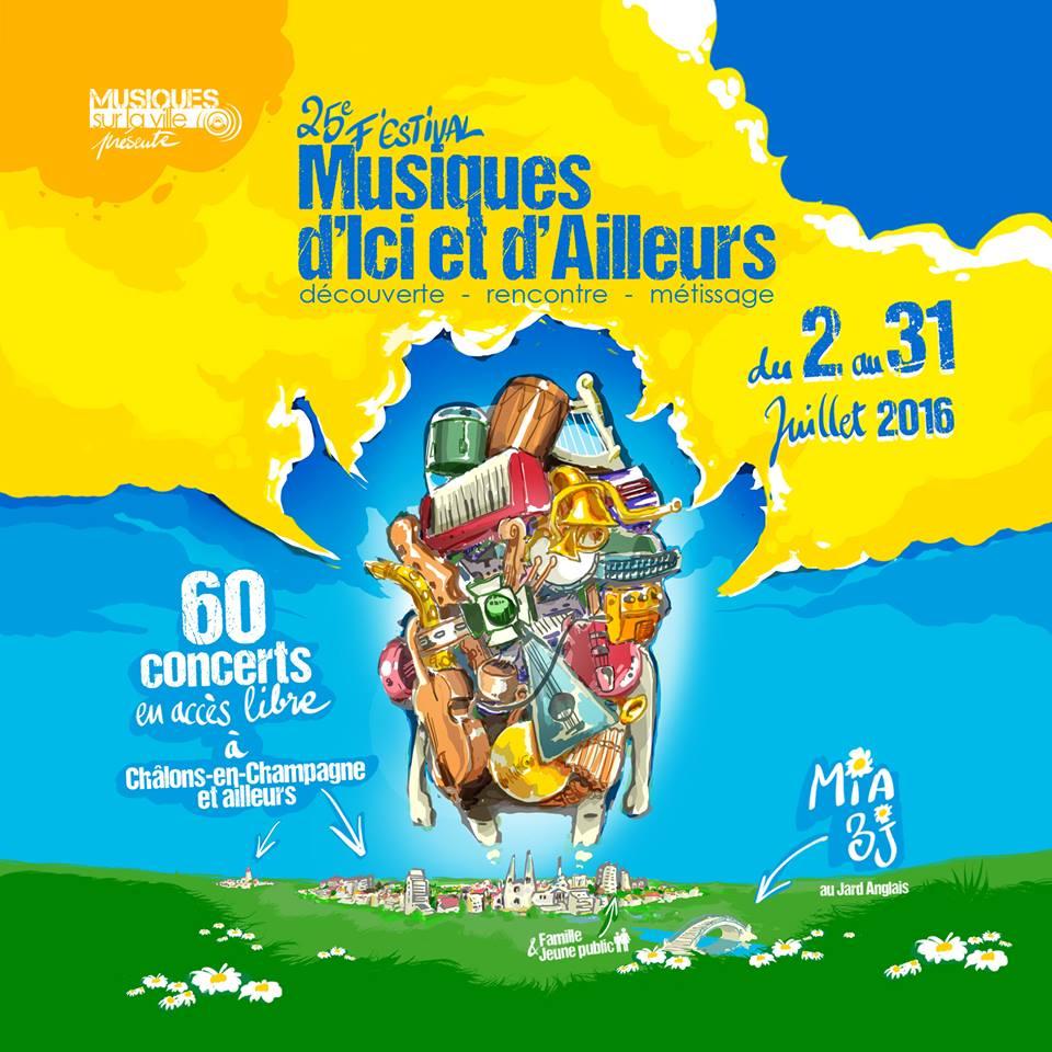 Pompéhop en concert sur le Festival des Musiques d'Ici et d'Ailleurs (51) !
